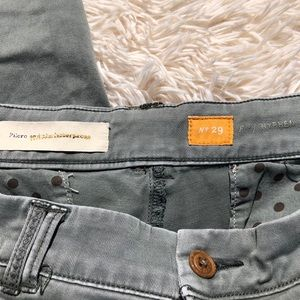 Anthropologie Pants - Pilcro Sage Green Hyphen Chino Pant